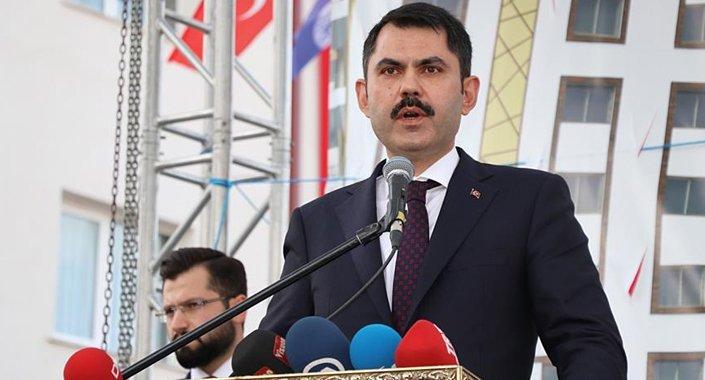 Bakan Kurum Sivas Vefa Konutları'nın teslim törenine katıldı
