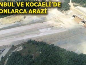 Kuzey Marmara Otoyolu için kamulaştırma başladı