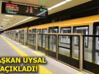 Üsküdar-Çekmeköy metrosu bu ay sonu açılmış olacak