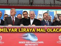 Gebze OSB-Darıca Sahil Metro Hattı'nın temeli atıldı