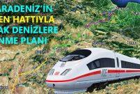 Samsun Kırıkkale YHT Hattı hayata geçiyor