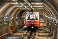 Tarihi Karaköy Tünel hattı bakıma alındı
