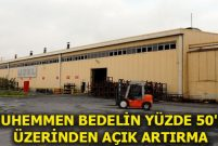 Uzel Makine Traktör Fabrikası'nın bina ve arazisini satıyor