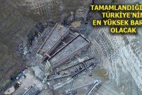 Yusufeli Barajı inşaatında yüzde 60'lık seviye tamamlandı