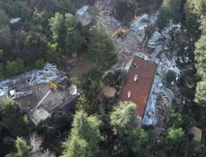 Adnan Oktar'ın villasında yıkım tamamlandı
