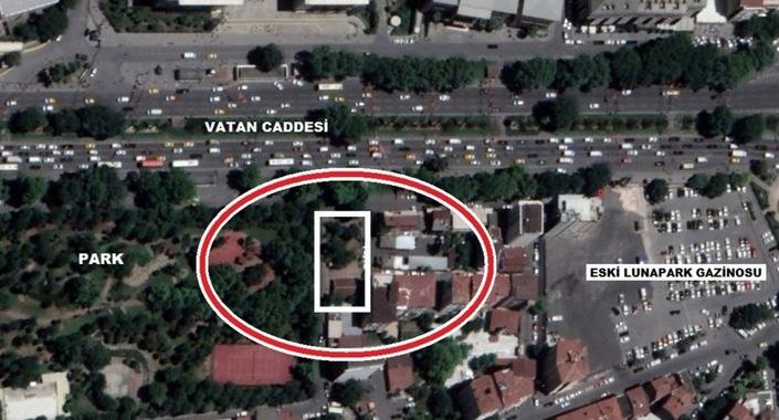 Vatan Caddesi'ndeki eski askeri alan imara açılacak