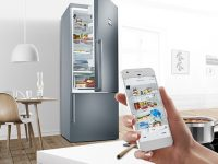 Bosch Home Connect'ten selfie çeken buzdolabı