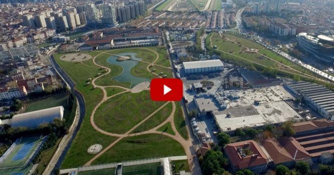 Çırpıcı Millet Bahçesi'nin 4 etabı tamamlandı