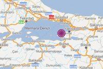 Marmara'da 4,1 büyüklüğünde deprem