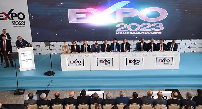 EXPO 2023 Kahramanmaraş'ta düzenlenecek