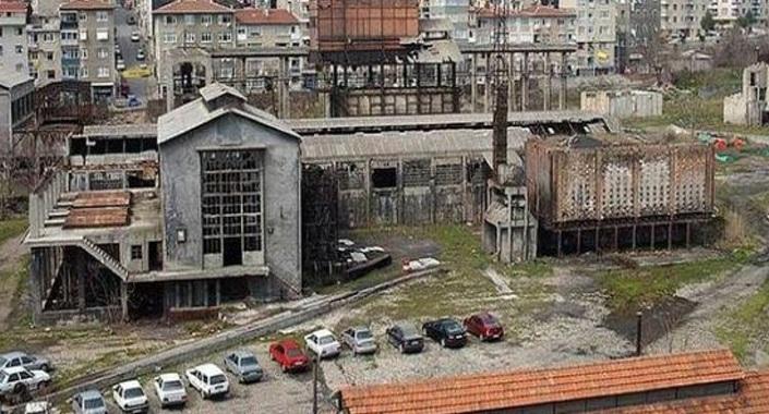 Hasanpaşa gazhanesi kültür merkezi oluyor