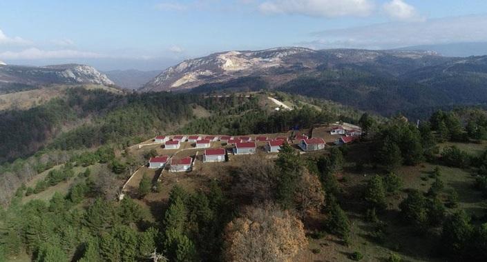 Bursa hobi evleri köy arazisinin değerine değer kattı