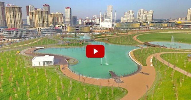 Kayaşehir Millet Bahçesi tanıtım filmi yayınlandı