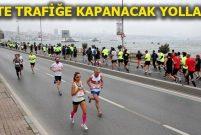 Vodafone 40. İstanbul Maratonu için trafik düzenlemesi