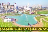 Kayaşehir Millet Bahçesi bir ay içinde açılacak