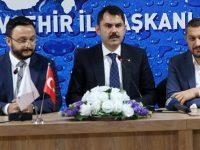 Bakan Kurum, Nevşehir Emlak Konutları'nı inceledi
