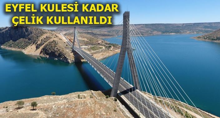 Nissibi Köprüsü'yle Adıyaman-Diyarbakır yolu 60 km kısaldı