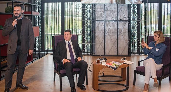 Sinpaş Finans Şehir'de 2019 ekonomi değerlendirmesi yapıldı