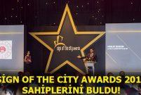 5. Sign Of The City Awards'da hangi projeler dereceye girdi?