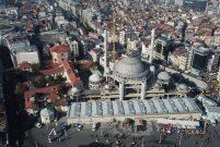Taksim Camii inşaatında sona yaklaşıldı
