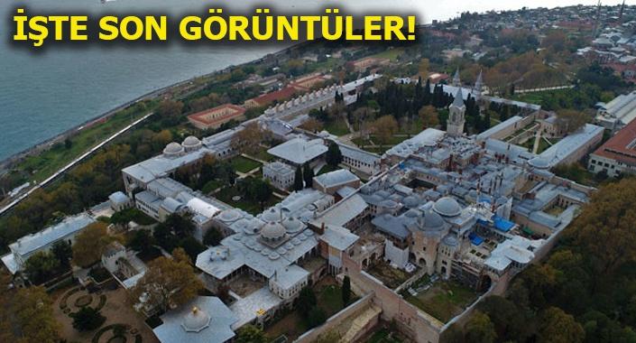 Topkapı Sarayı tarihinin en büyük restorasyonunu geçiriyor