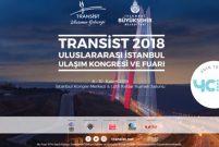 Transist 2018 İstanbul Ulaşım Kongresi ve Fuarı 8 Kasım'da