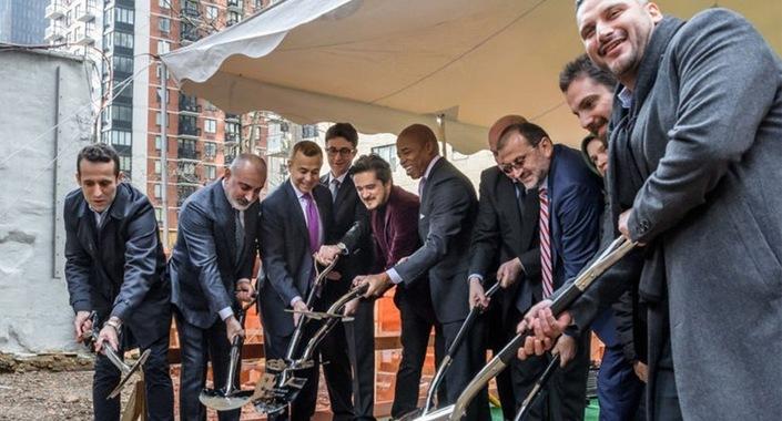 New York'ta 21 katlı Türken Evi'nin temeli atıldı