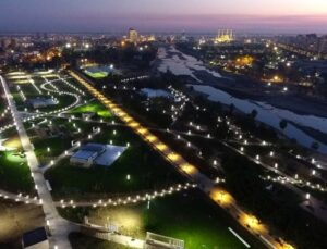 Adana'nın ilk millet bahçesi hizmete giriyor