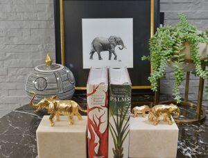Dekorasyonun simgesel gücü fil