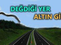 Gebze-Orhangazi-İzmir Otoyolu'nun parlattığı bölgeler