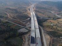 Badırga-Çatalağıl Kavşağının yüzde 95'i tamamlandı