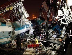 Ankara'da hızlı tren kazası: 4 ölü, 43 yaralı