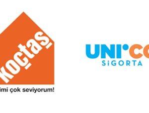 Koçtaş ve Unico Sigorta'dan bin kişiye ev güvence paketi
