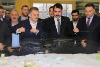 Bakan Kurum İstanbul'da kentsel dönüşüm projelerini inceledi