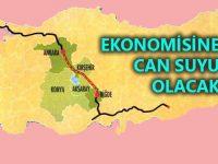 Ankara-Niğde Otoyolu bereket saçıyor