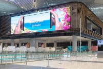 Samsung, İstanbul Havalimanı'na LED bilgi tabelası kuruyor