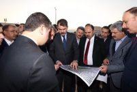 Bakan Kurum Şanlıurfa'da kentsel dönüşüm alanını inceledi