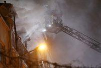 Bayrampaşa'da 4 katlı binada yangın çıktı