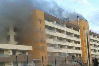 Hatay'da termal otelde yangın çıktı
