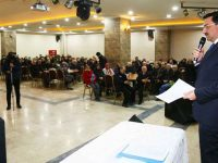 Keçiören Belediyesi Hacıkadın Vadisi'nde tapu dağıtıyor