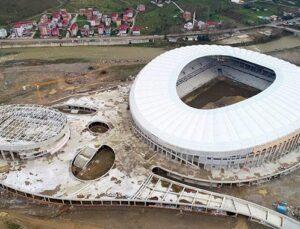Çotanak Spor Kompleksi'nde sona yaklaşıldı