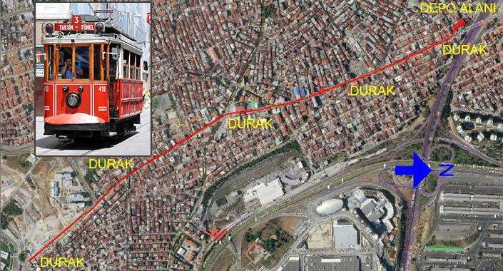 Esenler Nostaljik Tramvay Hattı 2.2 km uzunluğunda olacak
