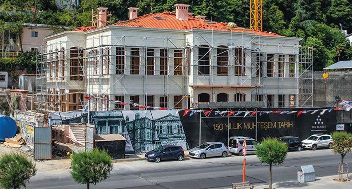 Sarıyer'deki tarihi Kocataş Yalısı otel olacak
