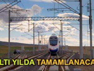 Malatya-Elazığ Demiryolu Projesi 6 yılda tamamlanacak