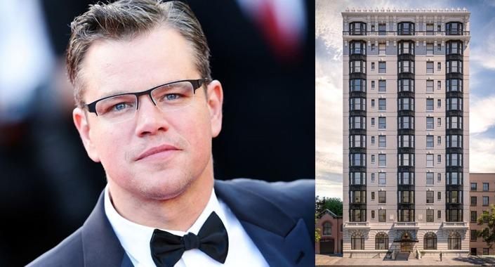 Matt Damon New York'ta 16,75 milyon dolara daire aldı