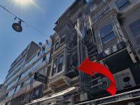 Beyoğlu Mis Sokak'ta 9 milyon liraya satılık bina