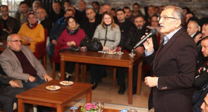 Murat Aydın Beykozlular'a imar sözü verdi
