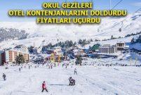 Türkiye'deki kayak otellerinin fiyatları Avrupa'yı geçti
