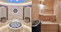 Hamam ve sauna tasarımlarında geleneksel motifler