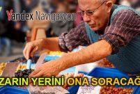 İstanbul'un semt pazarları Yandex Navigasyon'da